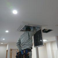 ビル用マルチエアコン新設工事のサムネイル