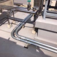 屋上空調電源工事のサムネイル