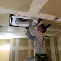 業務用エアコン新設工事のサムネイル
